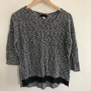 Attention sweater top size XL